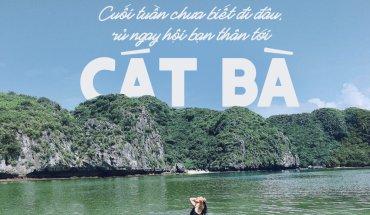 Đảo Cát Bà – Vịnh Lan Hạ 3N2Đ