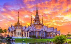 Tour Thái Lan : Khám Phá Xứ Sở Chùa Vàng 5N4Đ
