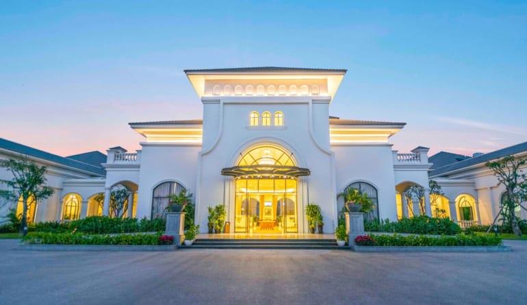 facade villa discovery vinpearl ha tinh